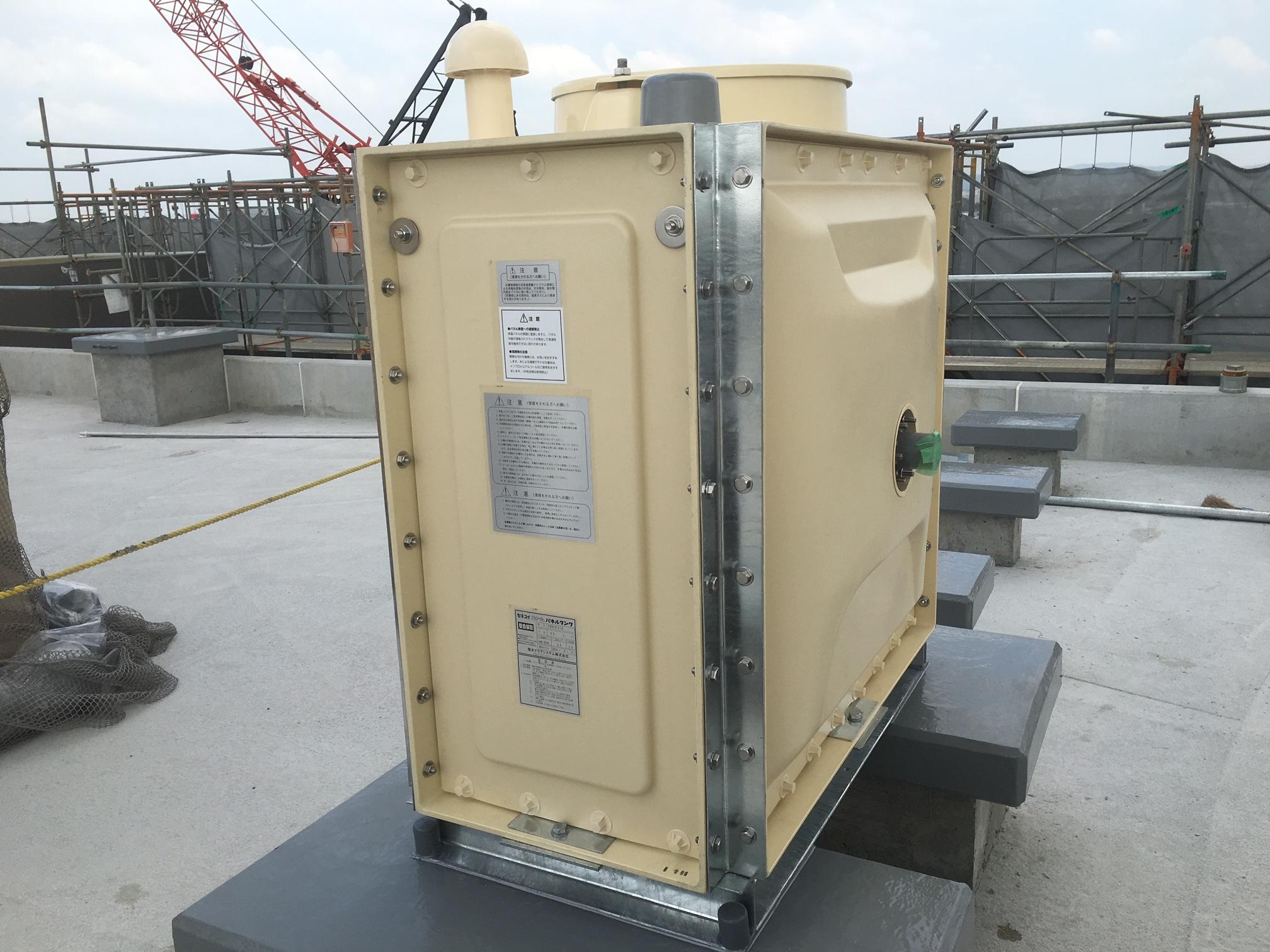 愛知パネル式タンクの組立をする設備工募集
