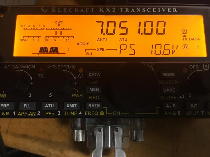KX2/10.6V→5Wへ