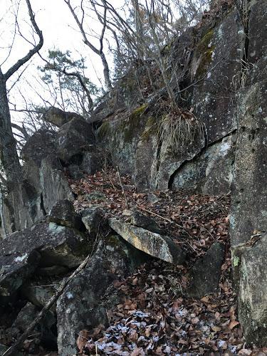 三蔵山/登り