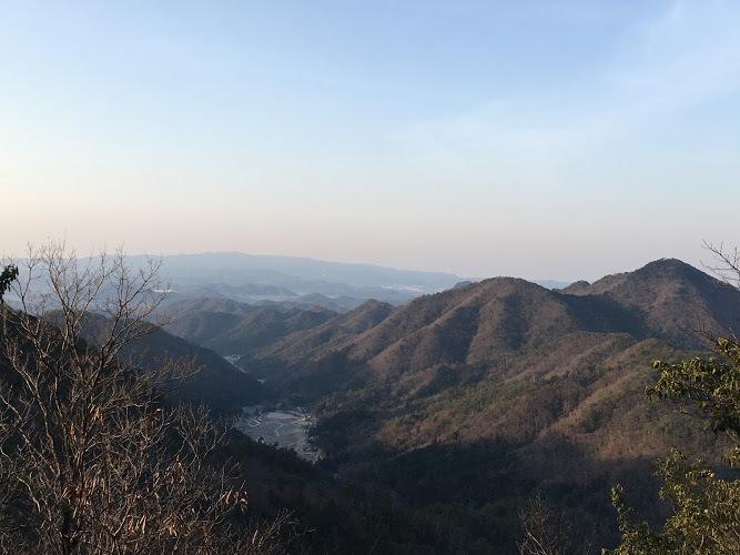 昼ヶ岳/南西景色