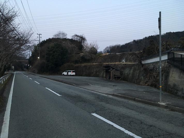 猪名川愛宕山/駐車場