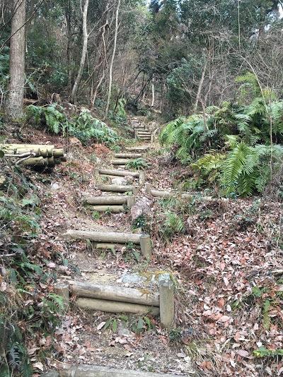 猪名川愛宕山/階段