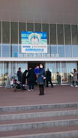 仙台うみの杜水族館1