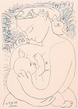 母と子 ピカソ