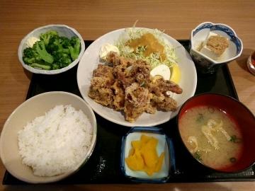 ヴィアHD いちげん からあげ定食01 201701