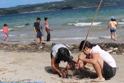 海 砂浜2