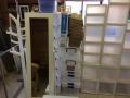 冷蔵庫、加湿器、扇風機、三段ボックス、衣装ケース、その他カントリー小物、ガラスケース s5