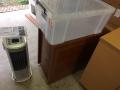冷蔵庫、加湿器、扇風機、三段ボックス、衣装ケース、その他カントリー小物、ガラスケース s4