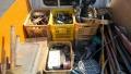 藤原啓、備前焼花瓶、湯飲み、大皿等、手工具、切断機、ハツリ、グラインダー、ドリル、マルノコ、等 s2