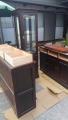 北海道民芸、本棚、座卓、飾り棚 s3