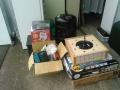 燻製器、バーナー、コンロ他アウトドア用品、棚、小家電、シーリングライト i