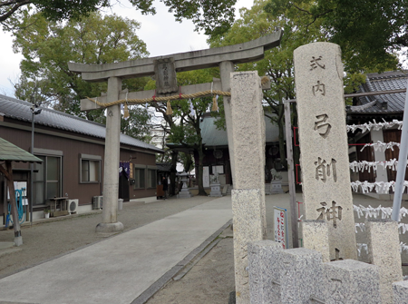 170211弓削神社