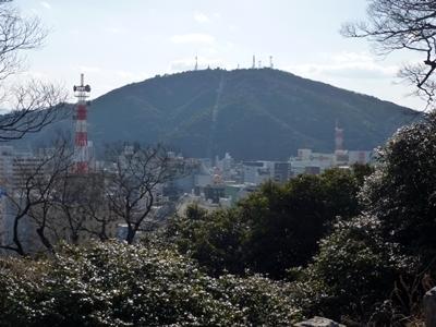 徳島城_眉山