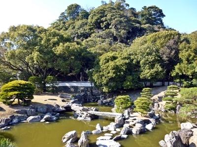 徳島城_表御殿庭園