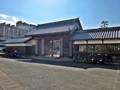 徳島城_鷲の門