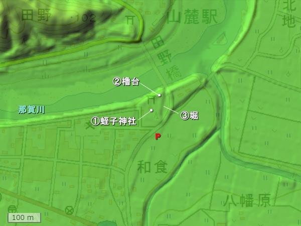仁宇城地形図