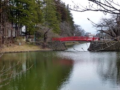 米沢城_菱門橋