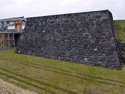 山形城_本丸石垣