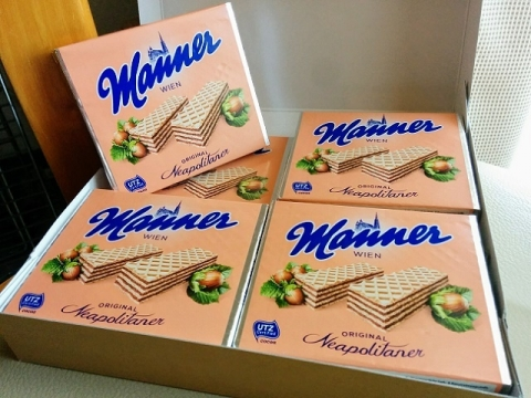 オーストリア製ウェハース『マナー』2