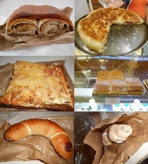 スロヴェニアのパン屋さんのパン色々