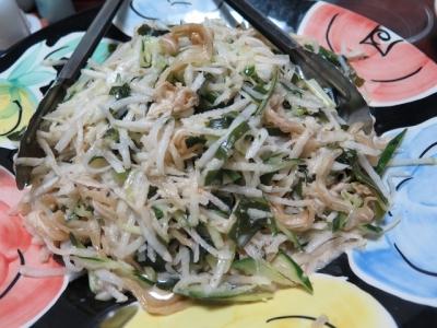 ミミガーと大根のサラダ