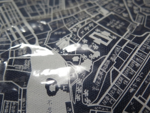 古地図トート 上野辺り
