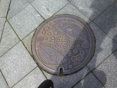 浜松 ヒラメ マンホール