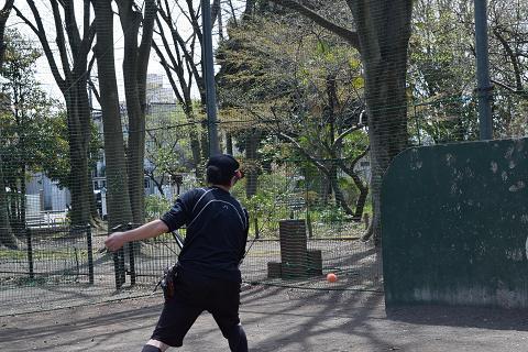 テニスの練習①