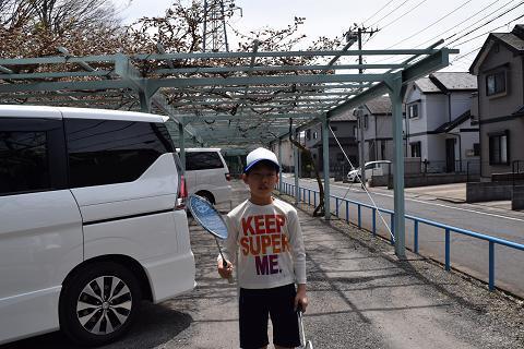 テニスの練習③