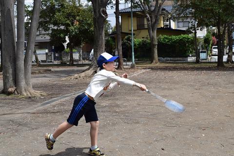 テニスの練習④