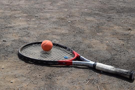 テニスの練習⑤