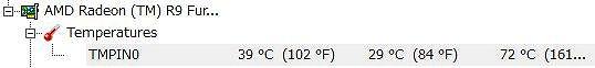 R9 nano-温度
