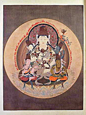 「真美大観」収録の多色木版刷り図版