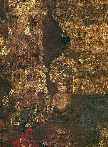 京博本興福寺曼陀羅図にみえる西金堂・羅睺羅像