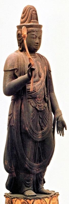 光善寺・薬師三尊月光菩薩像