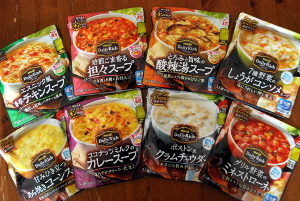 スープ8種