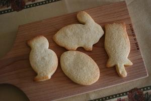 イースタークッキーそのまま