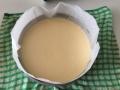 チーズとチョコの2層ケーキ 手順8