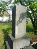JR西若松駅 詳細不明の石碑