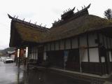 会津鉄道湯野上温泉駅 駅舎