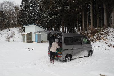 2017.2.8 葛尾村 ぽこ&まちさん 4