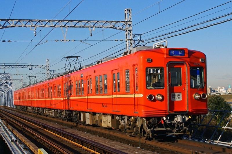 2010年1月14日 京成関屋~堀切菖蒲園にて