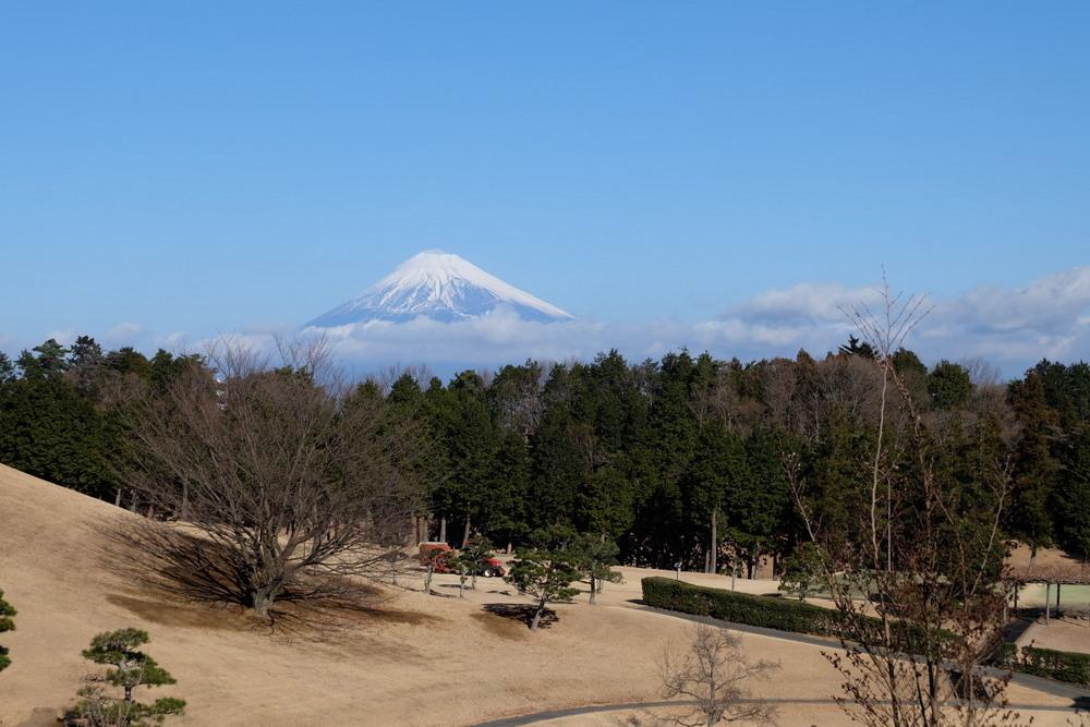 ラフォーレ修善寺2日目富士山02