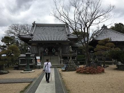 9番法輪寺本堂へS2