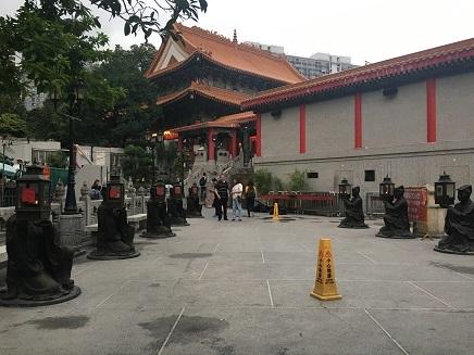4212017 香港観光晉色園黄大仙S8