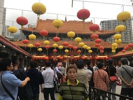 4212017 香港観光晉色園黄大仙S11