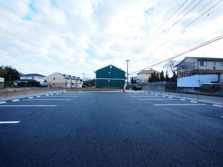 開発造成した駐車場が完成した2017_0131_01