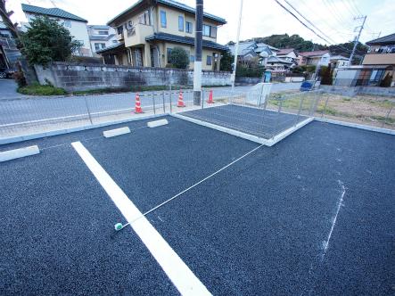 開発造成した駐車場が完成した2017_0131_07