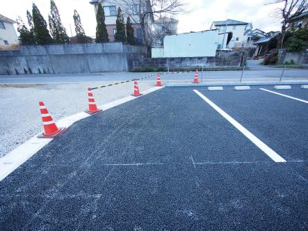 開発造成した駐車場が完成した2017_0131_10