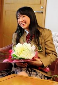 神戸新聞 まい今年1月に芦屋市役所訪問